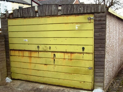 garage door repair chorley